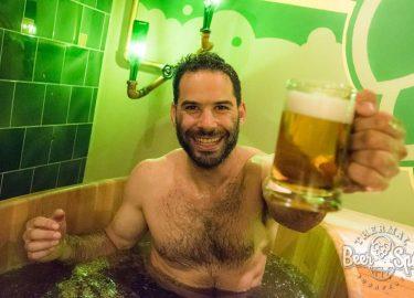 Mostantól itthon is lubickolhat a sörben: BeerSpa nyílt a Széchenyiben